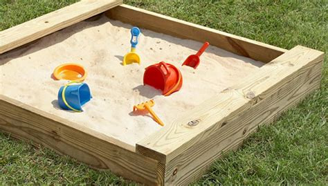 build a sandpit in your backyard build a sandbox