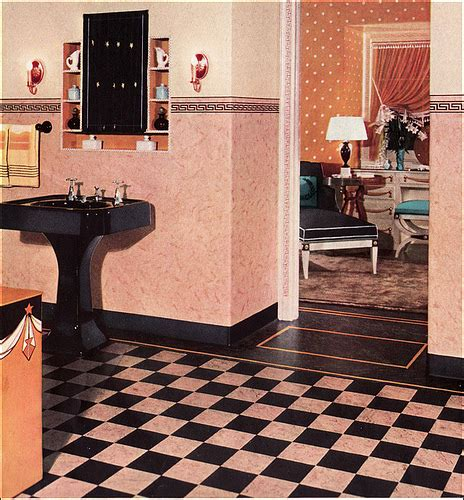 1930s bathroom design flickr photo