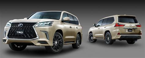 lexus trd trd introduces aero kit for lexus lx 570 performancedrive