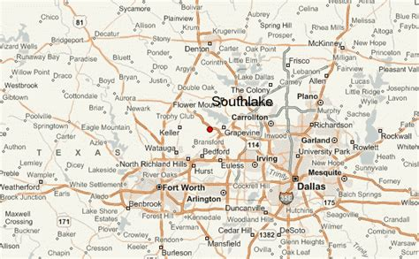 where is southlake texas on a map of texas gu 237 a urbano de southlake