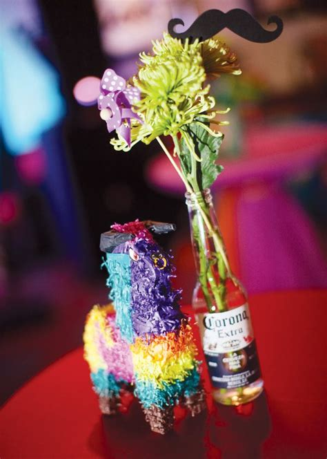 Colorful Amp Modern Fiesta Engagement Party Corona