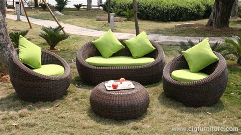 outdoor round couch rattan wicker sofa incredible deal on costway 5pc patio