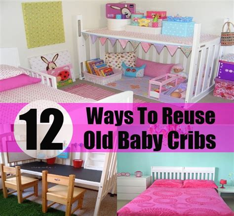 creative baby cribs 12 great ways to reuse baby cribs diy home