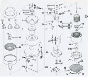 sunkist parts for commercial citrus juicers and wedgers