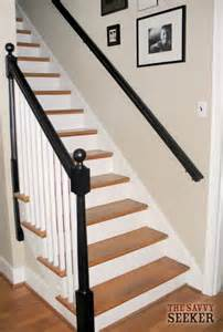 Painted Banister Ideas by House Charm Before And After Banister Thesavvyseeker