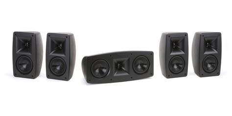 klipsch quintet 5ch home theater speaker system 1014526
