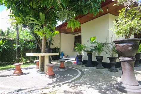 two bedroom house with beautiful garden sanur s local three bedroom house with decent garden on 350m2 land