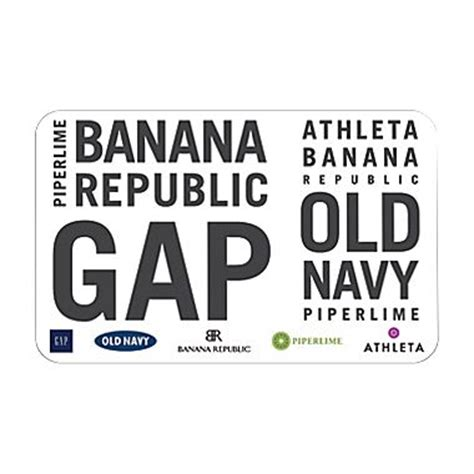 Gap Gift Card At Old Navy - staples 25 old navy gap ban republic e gift card for 20