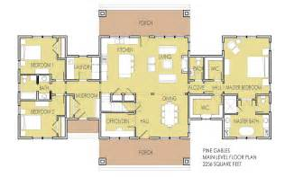 bedroom house plans with two master suites design and also simple ranch floor