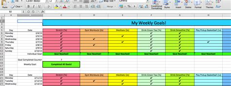 Goals Spreadsheet by Goal Spreadsheet Annual Employee Goal Sheet Tracker Excel