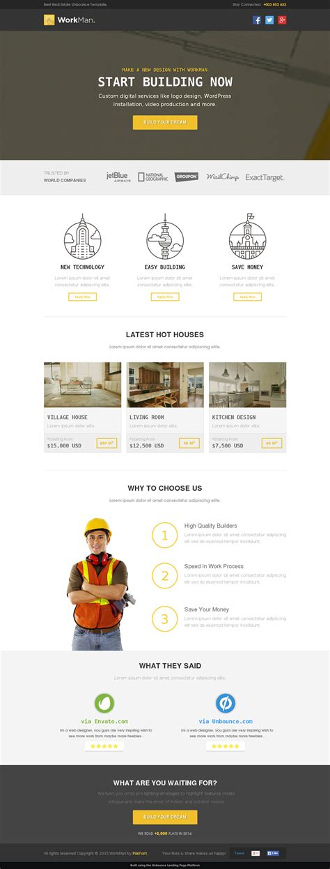 5 Real Estate Landing Page Templates For Your Appraisal About Page Template