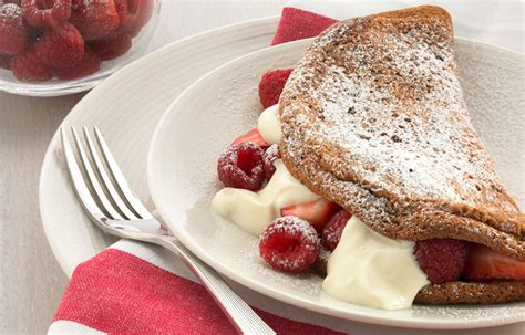 Better Homes And Gardens Crepes by Chocolate Souffle Omelette With Berries And Yoghurt Better Homes And Gardens