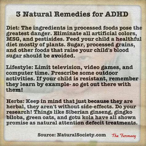 Herbal Adha remedies for adhd remedies
