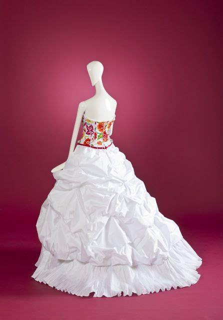 imagenes de vestidos de novia tradicionales vestido de novia quot oaxaca quot con bordado de inspiraci 243 n