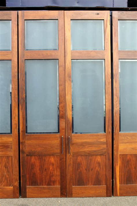 Wardrobe Door Fronts by Reclaimed Run Of American Walnut Stunning Wardrobe