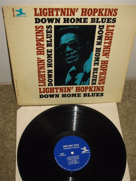 popsike blues r b lp lightnin home