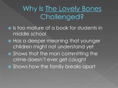the lovely bones book report the lovely bones banned book report
