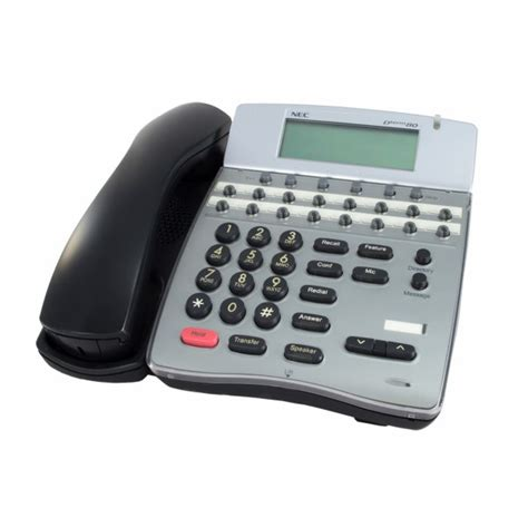 nec dterm 80 reset voicemail password nec dth 16d 2 bk telephone used refurbished