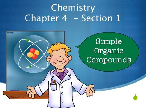 chapter 22 review organic chemistry section 1 simple carbon chemistry