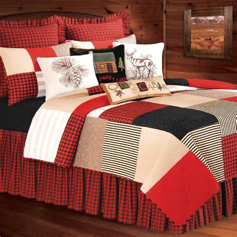 Patchwork Quilt Bedding - boulder ridge patchwork quilt bedding