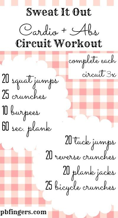 circuit workouts images