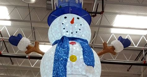 costcos lighted star 2015 72 quot pop up led snowman costco weekender