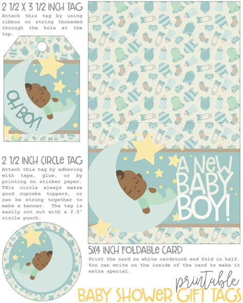 Printable Baby Shower Gift Tags by Free Printable Baby Shower Gift Tags Diabetesmang Info