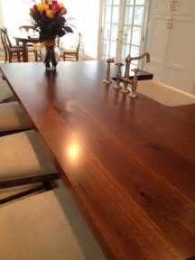 black walnut plank style craft kitchen ideas