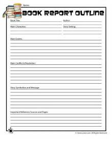 Book Report Ideas For Kids Book Report Outline Form For Older Readers Woo Jr Kids