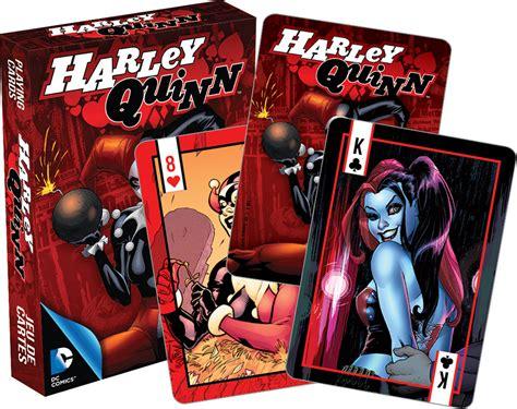 Harley Gift Card - dc comics harley quinn comics playing cards puzzlewarehouse com