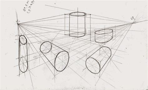2 Point Perspective Drawing Of A Circle by Weekly Doodles And Tuts Cube In 2 Point Perspective