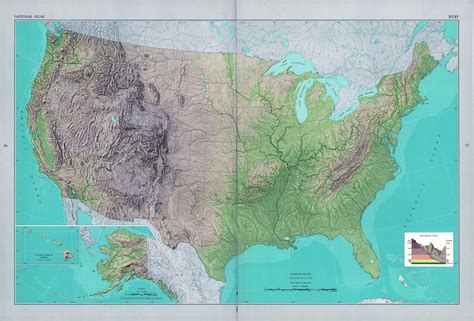 map usa relief large detailed shaded relief map of the usa usa maps