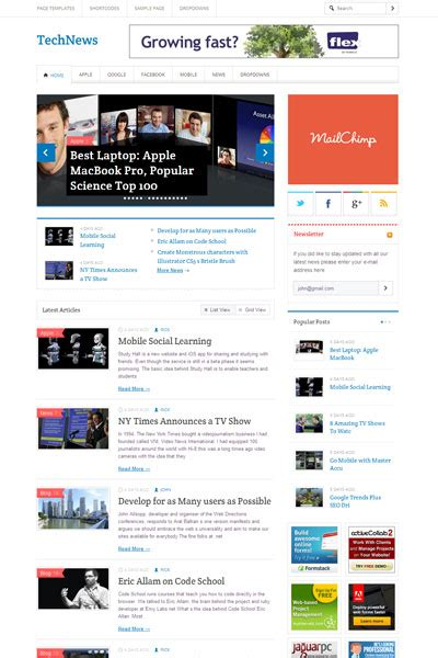 blogger themes for news technews wordpress pro blogger theme wordpress