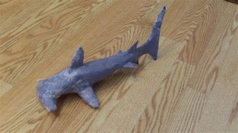 How To Make A Paper Mache Shark - justahumblebee week word therapeutic