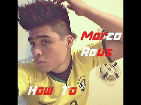 how to make reus haircut 2014 marco reus hairstyle variation tutorial youtube
