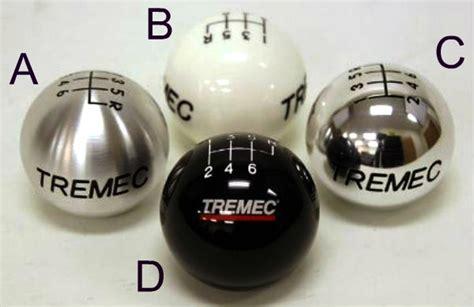 Tremec Shift Knob by Tremec 5 Speed White Shift Knob With Standard Thread 5wh Sx