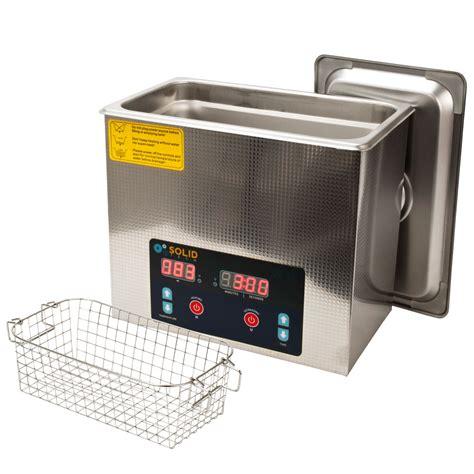 Ultrasonic Cleaner Stenlis Digital Timer With 30w 50w Power solid tech 2l stainless steel 50w ultrasonic cleaner 100w heater basket timer ebay