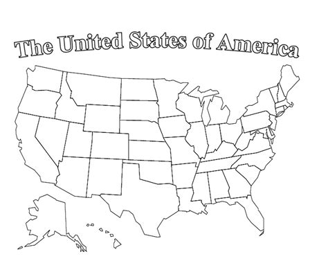 usa map coloring page us map coloring pages best coloring pages for