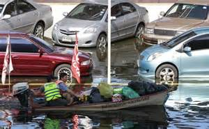 Electric Cars Sale Thailand Thailand Floods Animals Trapped By Devastation Try To