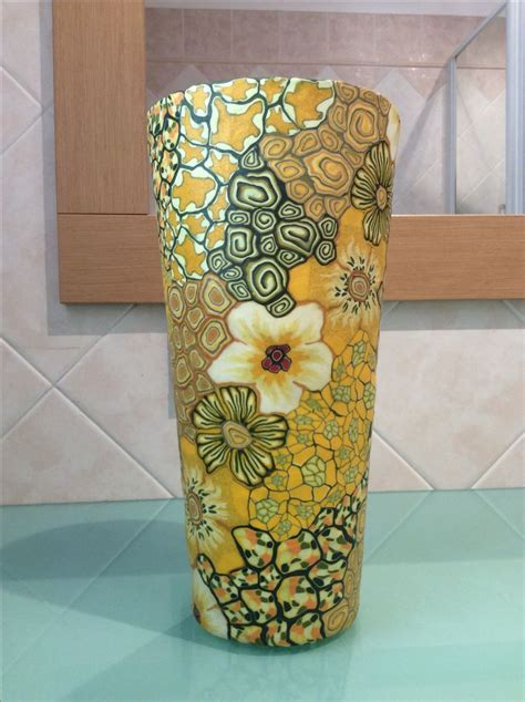 polymer clay home decor 107 best polymer clay vases and home decor objects images
