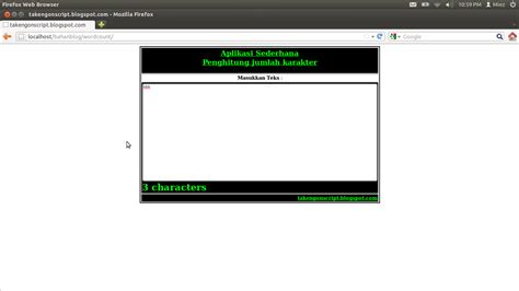 cara membuat json php cara membuat aplikasi penghitung karakter dengan php
