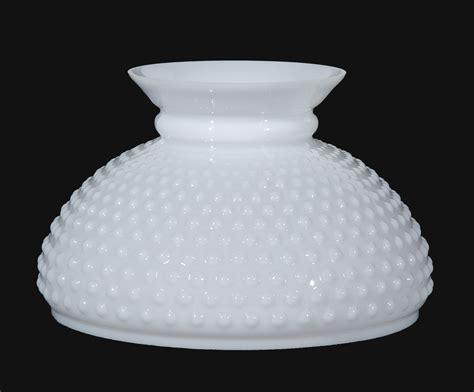 hobnail glass l shades 10 opal glass hobnail shade 06162 b p l supply