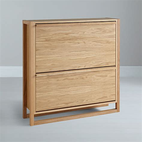 buy shoe storage buy lewis low shoe storage cabinet oak lewis