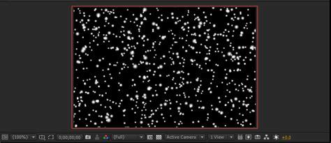 Membuat Effect tutorial membuat effects salju atau snow di after effects