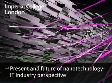 nanotechnology and nanomedicine perspectives in nanotechnology books present and future of nanotechnology an it industry