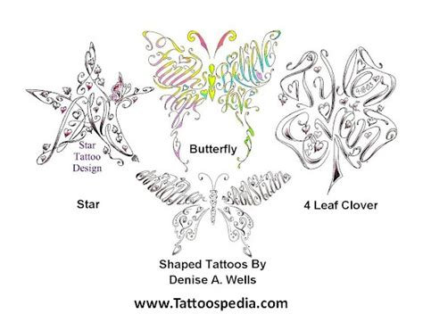 butterfly tattoo made out of names name tattoos made into butterfly 10