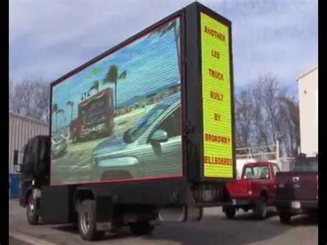 conduit mobile mobile led billboard truck broadway billboards