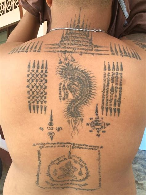 thai buddhist tattoos designs 160 best sak yant images on sak yant