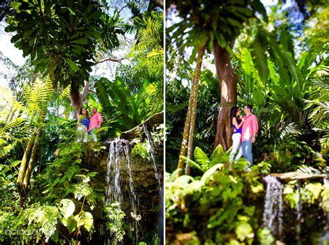 Fairchild Botanical Gardens Estefania Sergio Fairchild Botanical Garden Engagement Session South Florida Wedding