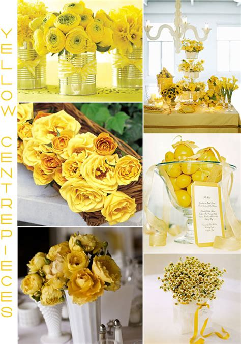 yellow wedding decorations romantic decoration